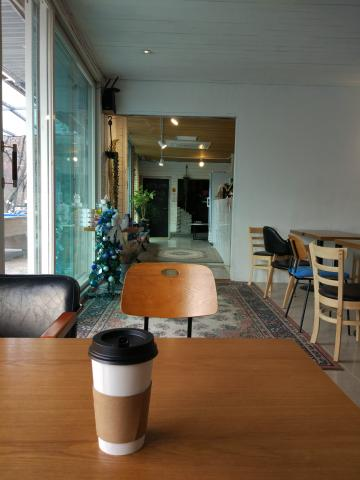 성북동에 위치한 카페